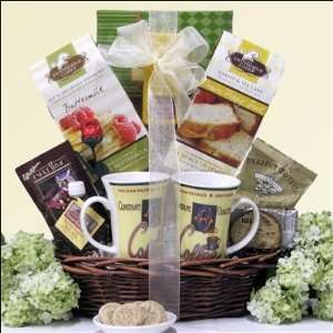 Morning Romance Wedding Anniversary Gift Basket  Grocery