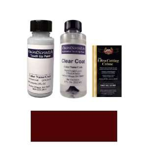 2 Oz. Medium Red Paint Bottle Kit for 1974 Mercedes Benz