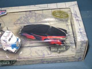 2001 Hot Wheels 4 Car Set DESIGNER DREAMZ Mint In Box