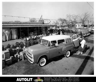 1957 Dodge Town Wagon Truck Factory Photo