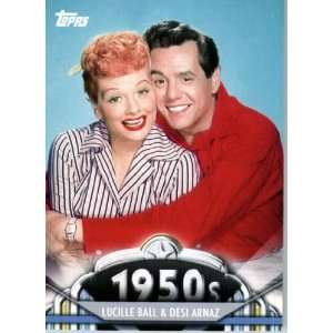 Lucille Ball & Desi Arnaz   ENCASED Trading Card Sports Collectibles