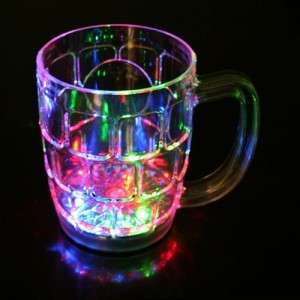 350ml 12oz Color Changing LED Mug Flash Light Lamp Mug   Beer Mug