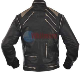 Michael Jackson Beat It Vintage Replica Black Original Leather Jacket