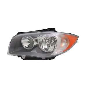 TYC 20 12490 00 BMW 1 Series Left Replacement Head Lamp