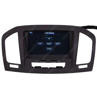 09 11 Opel Insignia Car GPS Navigation Radio ATSC TV Bluetooth