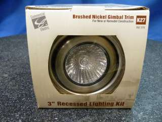 Commercial Electric K27 Recessed Lighting Kit