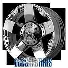 New 22 Inch KMC XD Series ROCKSTAR Wheels CHROME Rims 8X170 ET 44