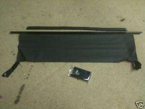NEW JEEP WRANGLER SOFT TOP REAR WINDOW TAILGATE BAR blk