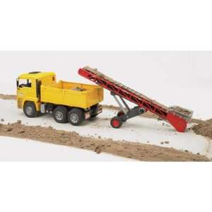 Bruder MAN TGA Construction Truck with Conveyor, Model