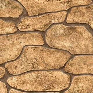 Faux River ROCK WALL The Look of stacked stone WALLPAPER double roll