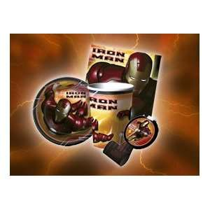Iron Man Deluxe Party Pack Toys & Games