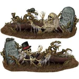 Doomed Groom & Bride Halloween Props Set Toys & Games