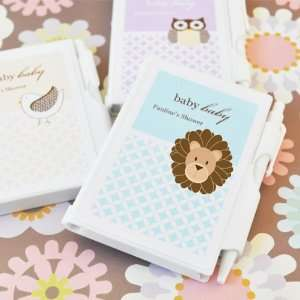 Baby Animal Notebook Favors