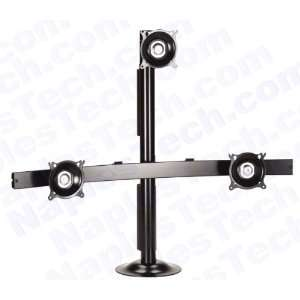 KT321 LCD Monitor Mount / Stand For Mounting 3 LCD Monitors up to 30