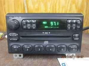 03 04 Ford Explorer Single CD Player Radio OEM LKQ