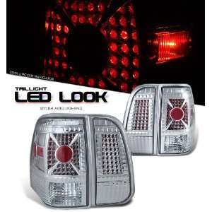 Lincoln 2003 2006 Navigator Suv Chrome Taillight Led Look