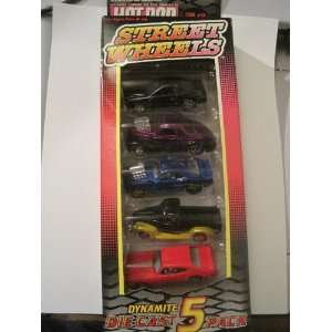 Hot Rod Magazine Issue 24   Street Wheels   Dynamite Die Cast 5 Pack