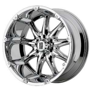 20x9 KMC XD Badlands (Chrome) Wheels/Rims 5x135 (XD77929013212N)