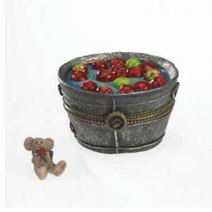 Boyds Bears Treasure Box   Granny Smiths Apple Bobbin