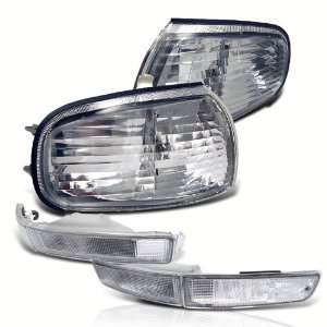 Eautolight 92 94 Toyota Camry Le Se Clear Bumper Signal