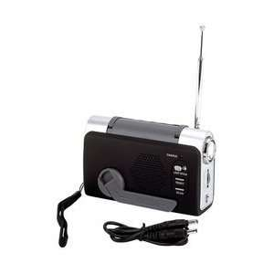 Mitaki Japan Wind Up Fm/Weather Radio/Led Flashlight