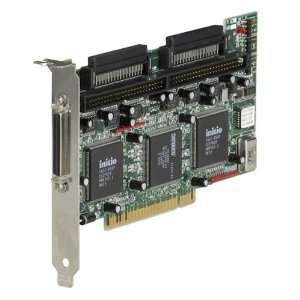 Dual Channel Ultra Narrow and Wide SCSI 3 Host Adapter Electronics