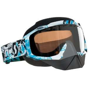 Scott Hustle SnowCross Vice Goggles with Rose Lens