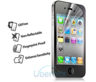 3X ANTI GLARE LCD SCREEN PROTECTOR FILM FOR IPHONE 4 4S 4GS S 4G