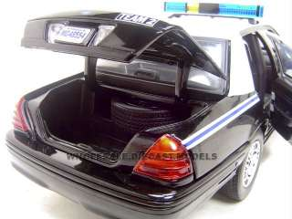 CHARLESTON POLICE CAR FORD CROWN VIC 118 DIECAST MODEL