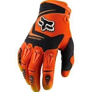 Fox Racing Pawtector Gloves Orange Automotive