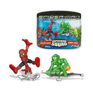 Spider Man Super Hero Squad Figures   Spider Man vs