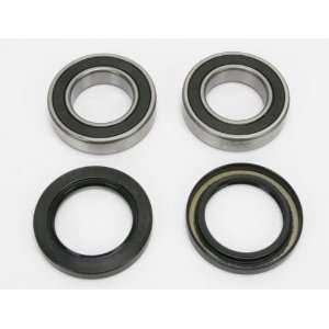 YAMAHA RAPTOR660 PIVOT WORKS REAR WHEEL BEARING KIT (STAINLESS STEEL