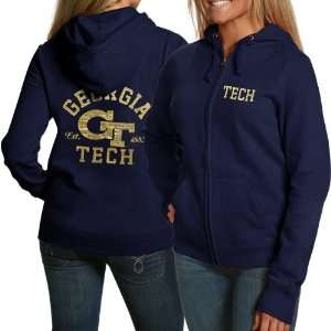 NCAA Georgia Tech Yellow Jackets Ladies Navy Blue Victoria