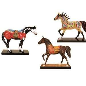 The Trail Of Painted Ponies Native American Horse Collectible