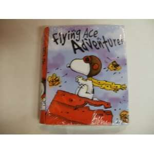 Snoopy Flying Ace Adventures Candy Filled Tin Book Toys