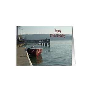 Fishing Boat 105th Birthday Card Card Toys & Games