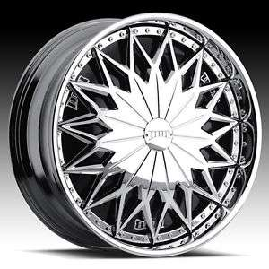 24 DUB JOKER SPINNER CHROME WHEEL SET