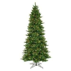 8.5 Prelit Slim Camdon Fir Artificial Christmas Tree with