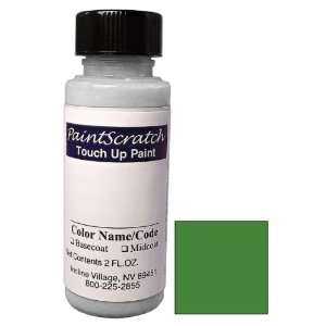 . Bottle of Green Metallic Touch Up Paint for 2000 Chevrolet Cavalier