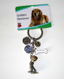 Golden Retriever Little Gifts Dog Breed Keychain for People