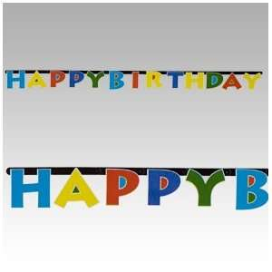 SALE Happy Birthday Jointed Banner SALE Toys & Games