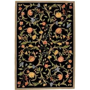 Chelsea Collection Hand Hooked Floral Wool Area Rug 2.60 x
