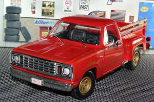 ERTL 1978 DODGE WARLOCK PICKUP TRUCK 1/18 RED AMM969/4