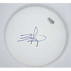 ZZ TOP Billy Gibbons Autographed Signed Drumhead