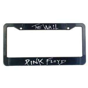Pink Floyd   The Wall License Plate Frame Automotive