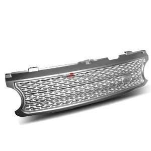 06 09 Land Rover Range Rover Sport Grille   Chrome Painted