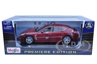 Brand new 118 scale diecast model of 2011 Porsche Panamera Turbo Dark