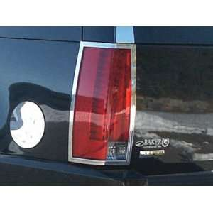 2007 2011 Cadillac Escalade ESV 2pc Chrome Tail Light