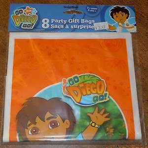 JR NICKELODEON 8 TREAT FAVOR GIFT BAGS BIRTHDAY PARTY DORA NEW