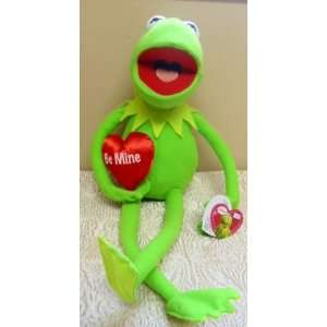 com Hard To Find Disney Muppets Over Sized 20 Plush Valentine Kermit